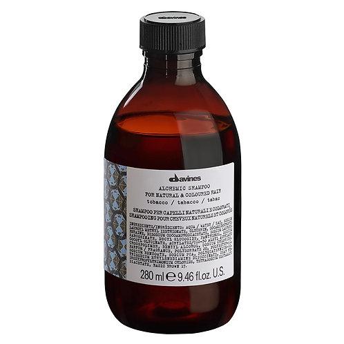 Alchemic Tobacco Shampoo 280ml | Davines