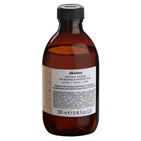 Alchemic Golden Shampoo 280ml | Davines