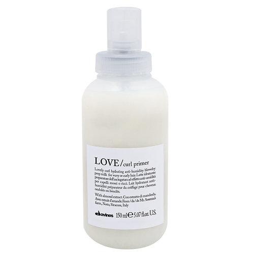 Love Curl Primer Milk 150ml | Davines