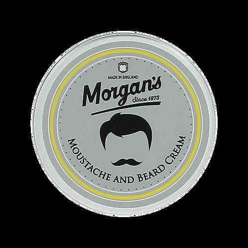 Moustache & Beard Cream 75ml | Morgan's