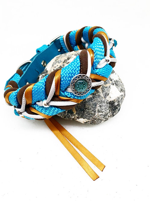 Twisted Turquoise 35-42cm