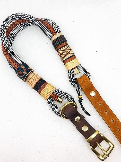 dreifach gelegtes Halsband