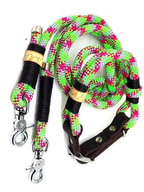 Northern Lights Leine 1.6m + Halsband 36-42cm
