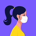 woman-wearing-disposable-medical-face-ma