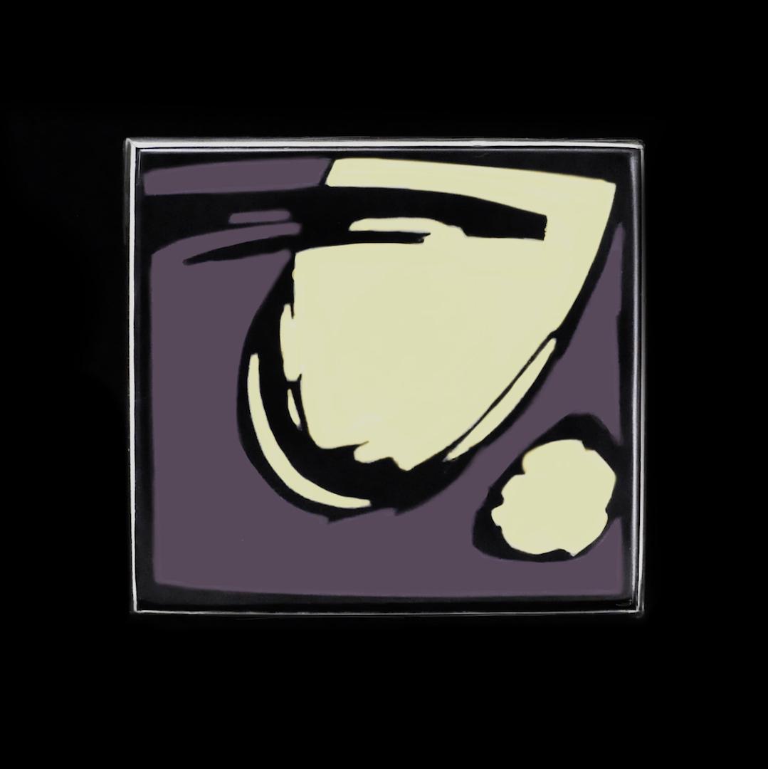 Broche, Petit tableau abstrait 2