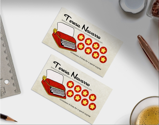 Writer Business Cards - Teresa