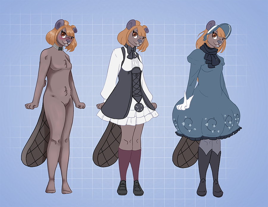 Standard - Kezz Commission Ref Sheet