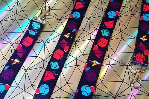 Let's Roll Lanyard - 80s