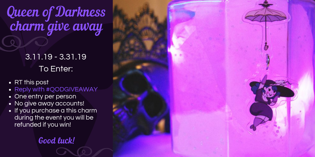 Queen of Darkness Give Away