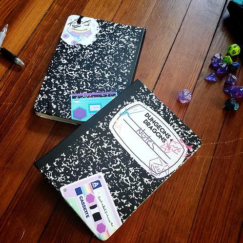 DND/TTRPG Composition Style Notebook