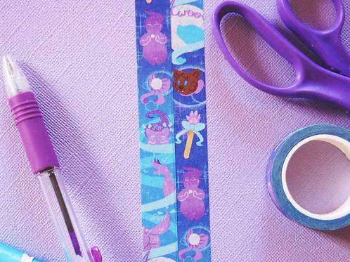 Sailor Awoo Werewolf Magical Girl - Washi Tape