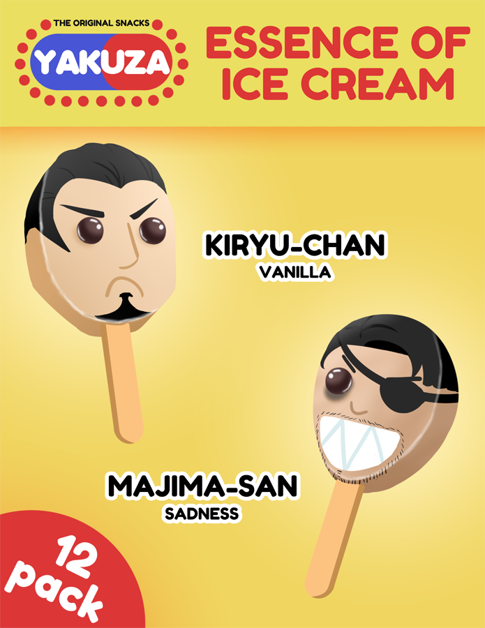 Essence of Ice Cream - Yakuza Parody Adv