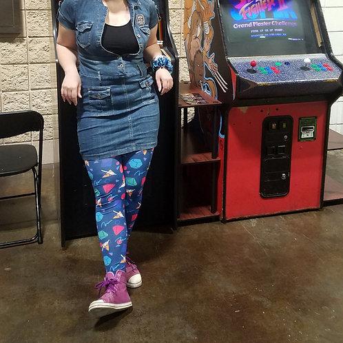 """""""Let's Roll"""" 80s - DND Leggings"""