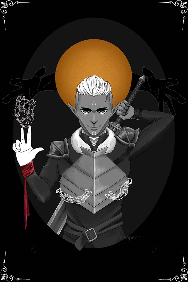 Illustration - Dragon Age - Fenris Saint