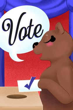 Commission - Rock the Vote ANE 2020
