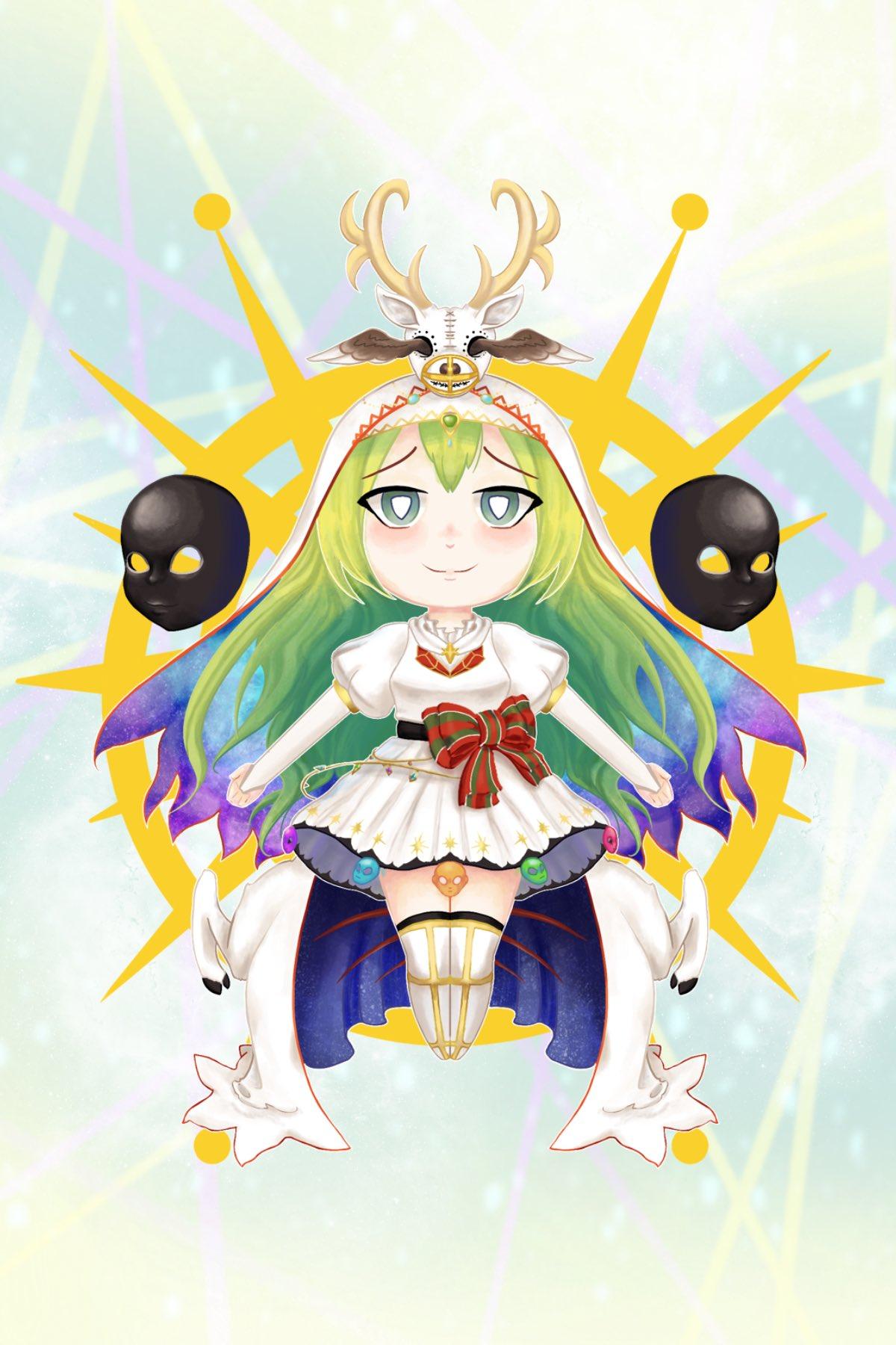 Illustration - Holy Alina - Magia Record
