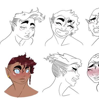 Viera Surana - Faces
