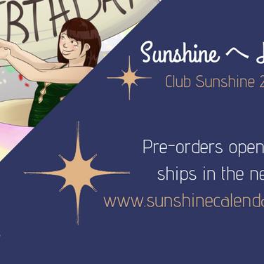 Graphic Design - Sunshine Calendar Prevu