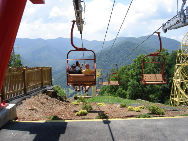 Chair Lift at Ghostland