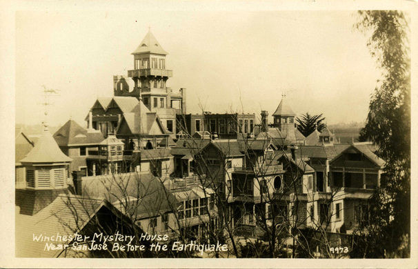 Winchester Mytstery House Before 1906