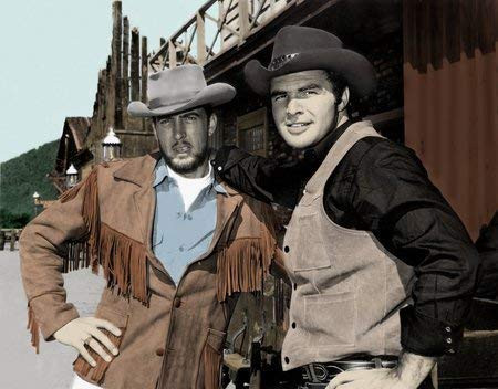 Burt Reynolds (R.) from Gunsmoke