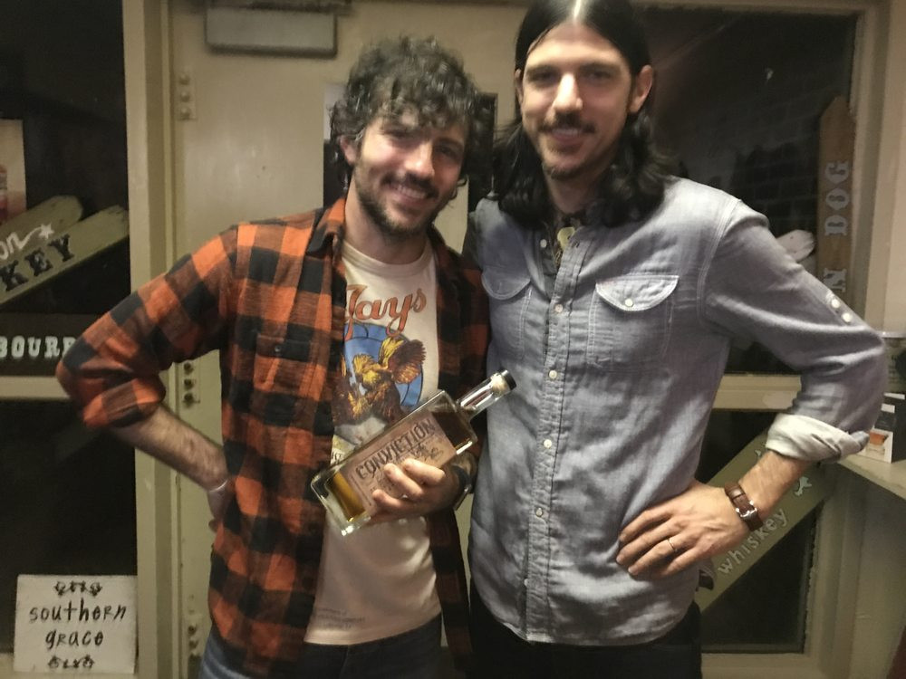 Scott and Seth Avett - picture: Southern Grace Distillery