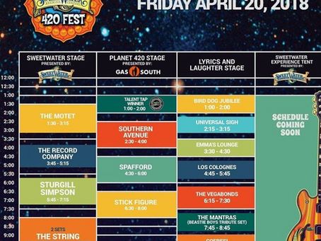420 Fest Lineup Announced