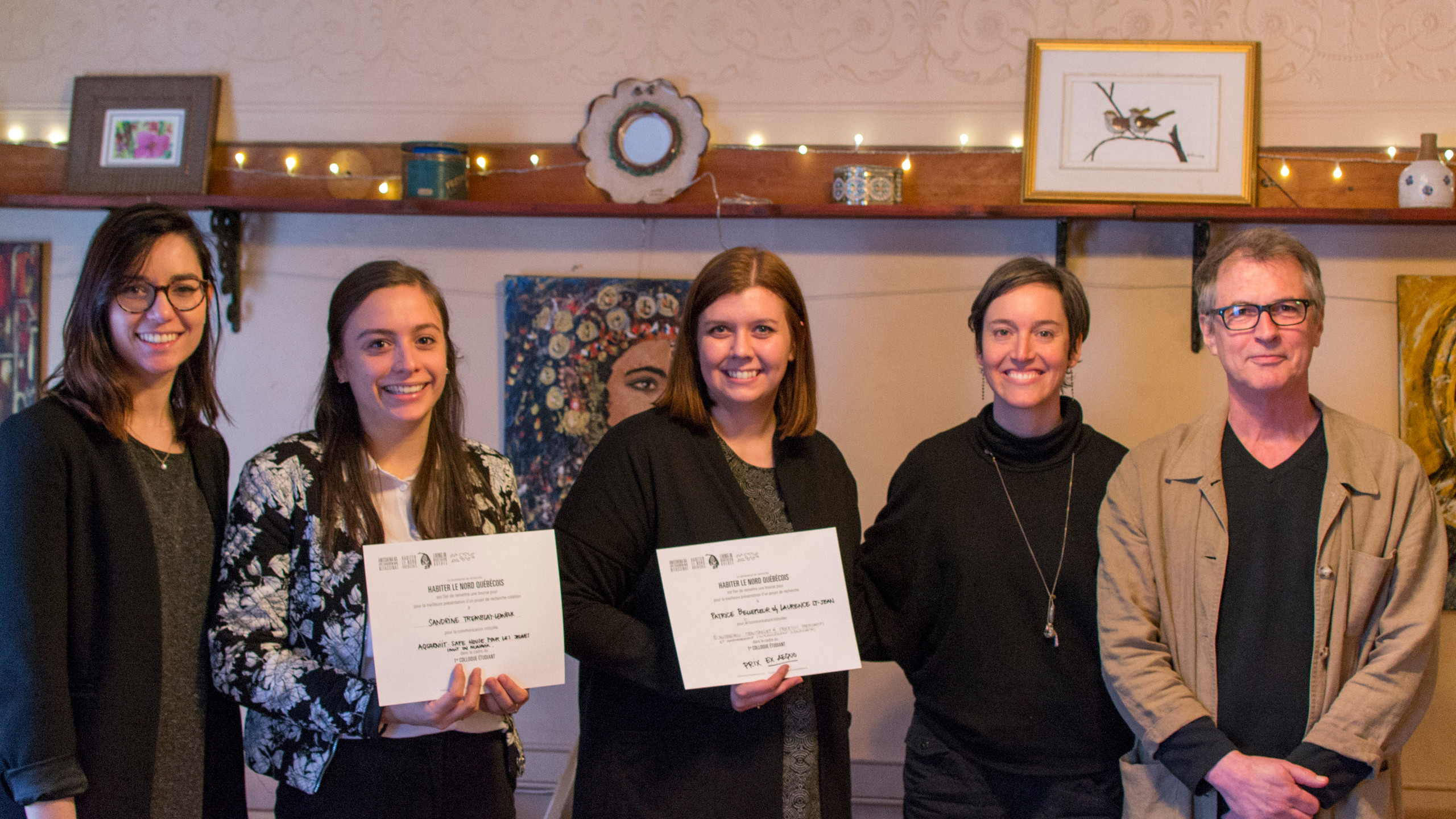 The winners of the jury prizes