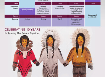 March 27th to 31st, 2017: Nunavik Women's Conference, in Kangirsuk