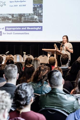 Olivia IKEY | Inuit Studies Conference 2019