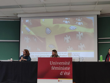 Our partner Gaëlle André-Lescop offered a conference titled: « Territory representations, identity a