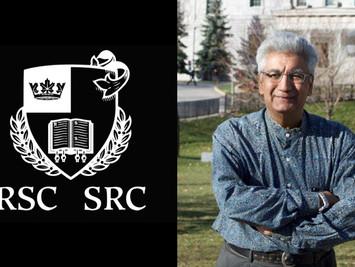 Vikram Bhatt intronisé à la Société royale du Canada / inducted into Royal Society of Canada
