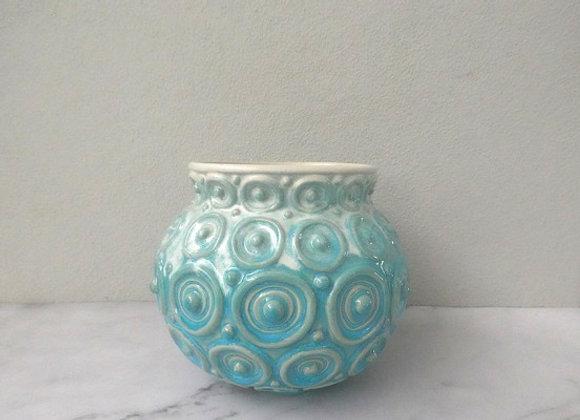 Blue Seas  Coin Vase