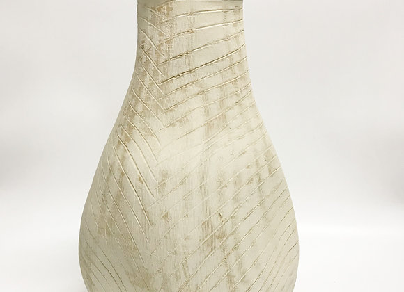 White Bark Tree Vase