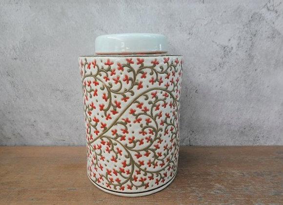 Royal Scroll Tea Caddy