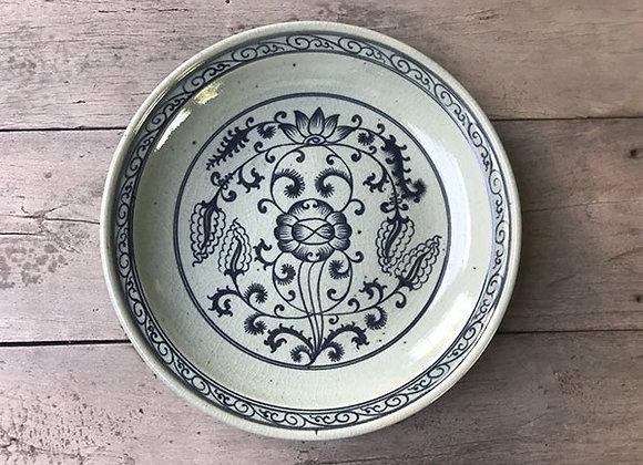 Celadon Lotus Pond Plate