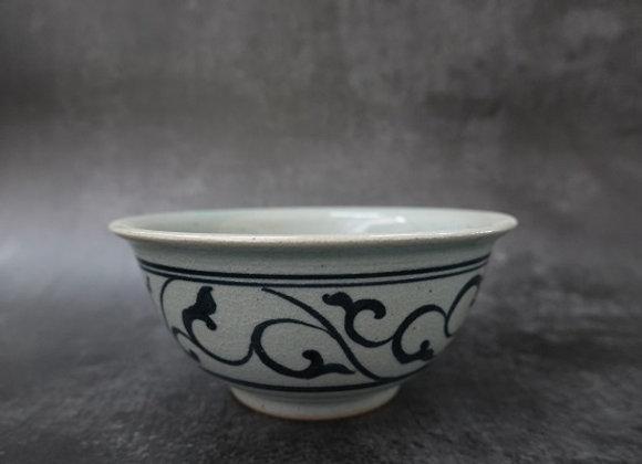 Floral Scroll Bowl