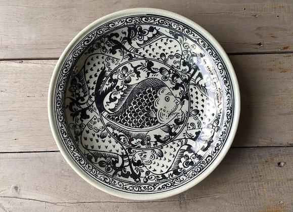 Celadon Lanna Fish Plate