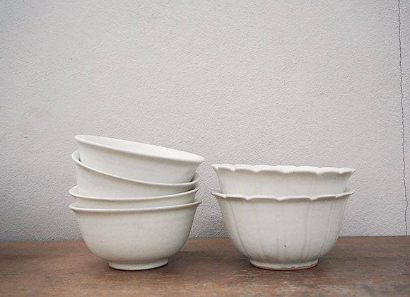 White Crack Bowl