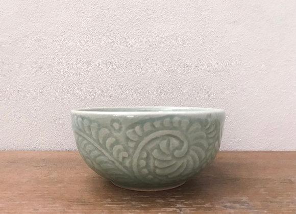 Celadon Fern Bowl