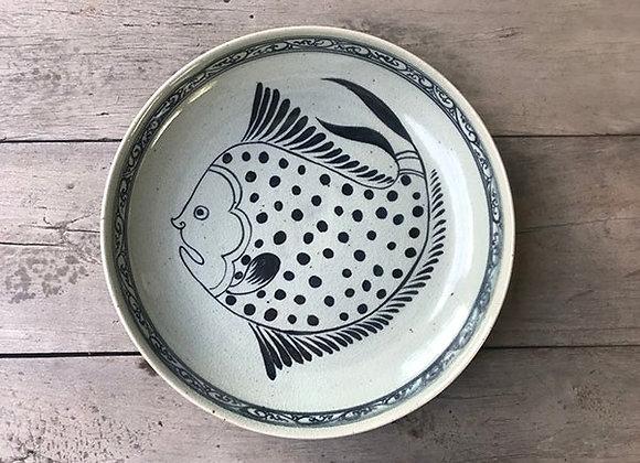 Celadon Sukhothai Fish Plate