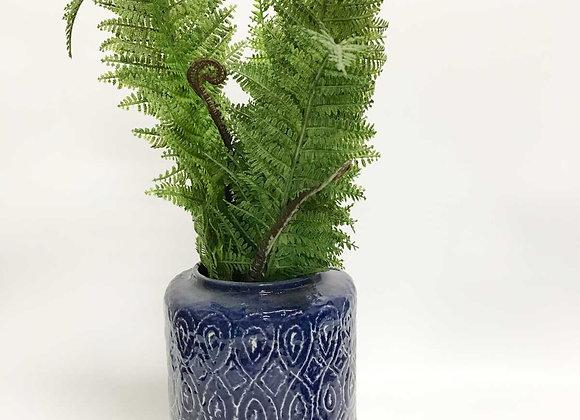 Indigo Vase