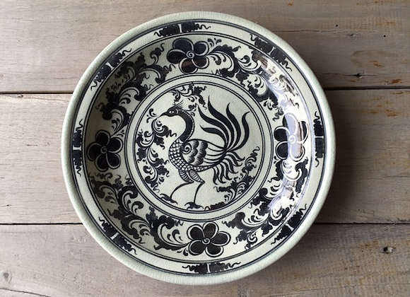 Celadon Plate-Phoenix