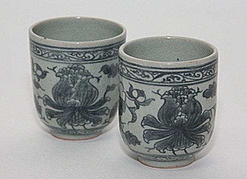 Oriental Peony Tea Cup