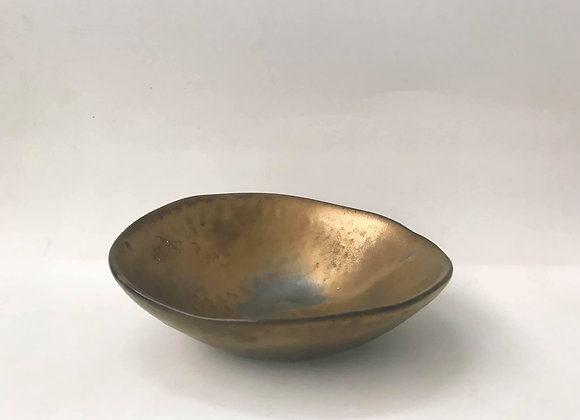 Rustic Gold Sharing Bowl