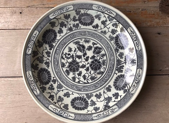 Celadon Oriental Plate