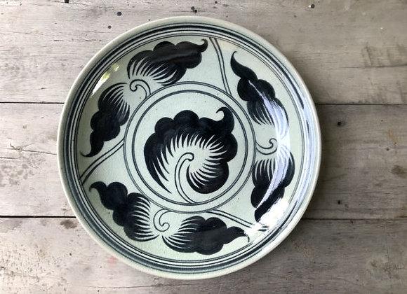 Celadon Wiang Kha Lhong Floral Plate
