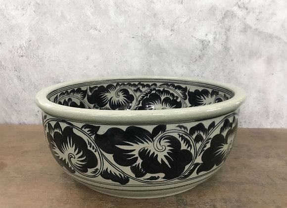 Celadon Wiang Kha Lhong Floral Wash-basin