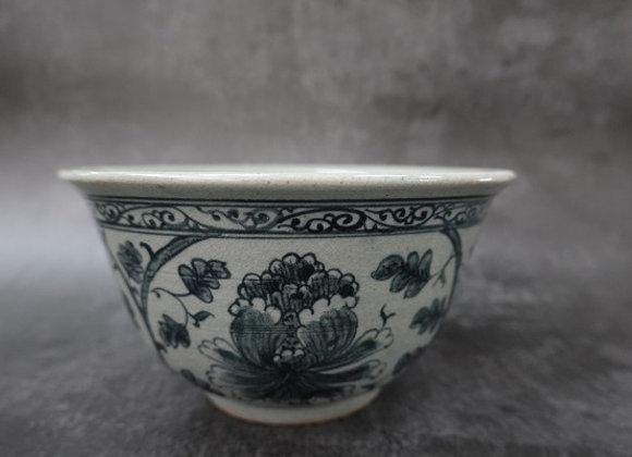 Oriental Peony Bowl