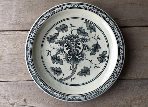 Celadon Flower Plate